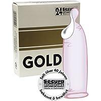 Orion 415111 Secura gold super Kondom, Gefühls-Feuchtbeschichtung, 24 Stück, Farbe rosé preisvergleich bei billige-tabletten.eu