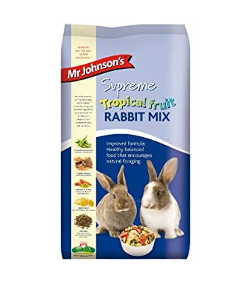 Supreme Tropical Rabbit Food Mix 900g from Mr Johnsons