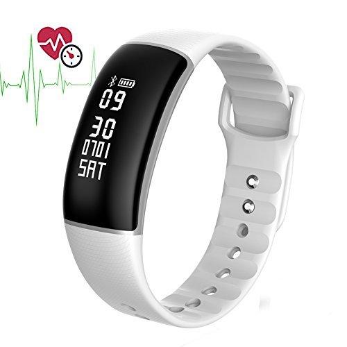 Bluetooth Pulsera Inteligente Impermeable MOREFINE Smartwatch Fitness Tracker 0.87