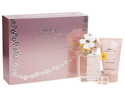 Marc Jacobs Daisy Eau so Fresh Duft Set 125ml Eau de Toilette 150ml BL 4ml EdT