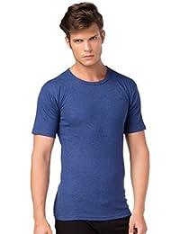 stylenmore Herren Ski Thermo-Unterhemd Kurzarm T-Shirt Thermounterwäsche Angeraut Innenfleece