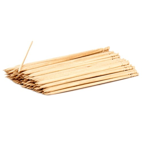 Ezee Wooden Staty Skewers - 8 Inches (1x90 Pieces)