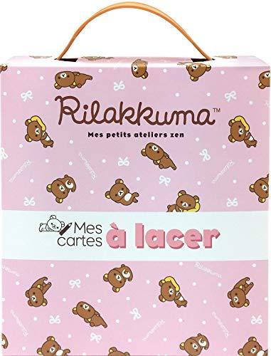 Mes cartes à lacer Rilakkuma par San-X