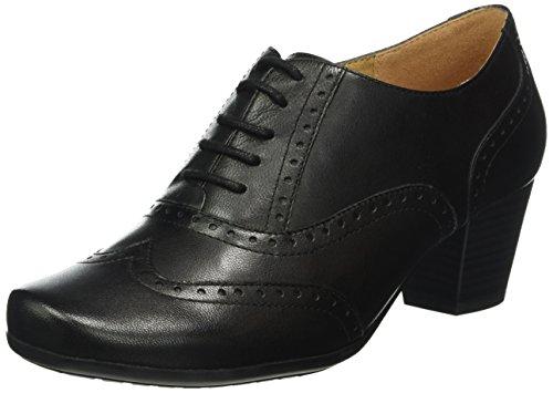 Caprice Footwear 23300, Women's Derby Lace-Up, Black (BLACK NAPPA 22), 6 UK (39 EU)