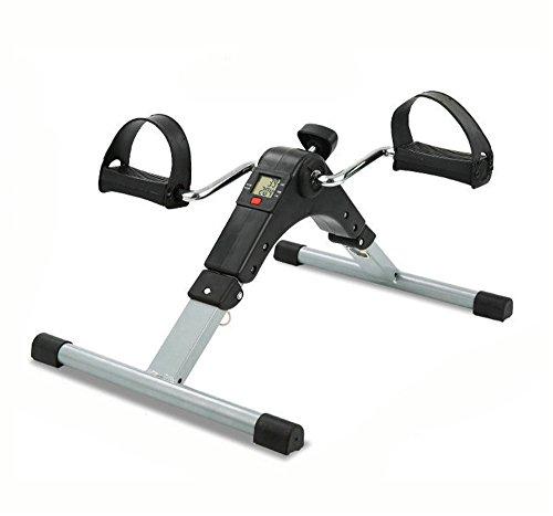 Guoyajf Tragbare Pedal Exerciser Für Bein Und Arm Übung Peddler Machine - Low Impact Schreibtisch Zyklus - Fitnessgeräte Für Senioren Und Ältere Menschen - Folding Heimtrainer -
