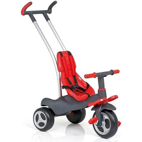 Molto 12210 - Triciclo con imbracatura di sicurezza, 98 x 49 x 87 cm