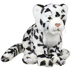 WWF 15192099 - Peluche, Leopardo de Las Nieves, 23 cm