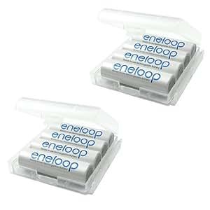 Sanyo Eneloop 8 Piles Eneloop HR-8UTGA Type AA (2000 mAh)