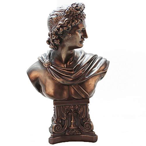 DAJIADS Statuen,Europäische Figur Aus Bronze Skulptur Kreative Resin Statuen Skulpturen Souvenir Sammlung Dekor Handwerk Home Dekoration Zubehör