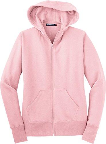 Sport-Tek Ladies Full-Zip Hooded Fleece Jacket. L265 2009 Womens Zip Hoodie