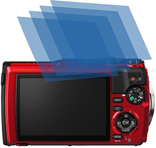 4x ANTIREFLEX matt Schutzfolie für Olympus TOUGH TG-5 Premium Displayschutzfolie Bildschirmschutzfolie Schutzhülle Displayschutz Displayfolie Folie
