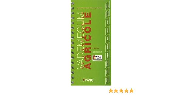 Amazon Fr Vademecum De L Entreprise Agricole Vanlerberghe Marc Collectif Livres