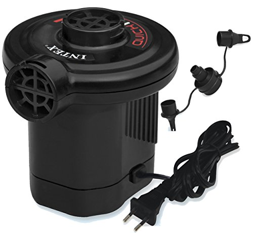 Intex Quick fill - Bomba eléctrica, 220 v (enchufe), 600 l/min