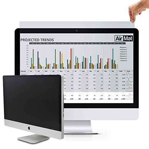 Premium Desktop Blickschutzfilter 23 Zoll, Privacy Screen Filter & Blickschutzfolie für Breitbild Computermonitore - von AirMat. Schützt vor unerwünschten Blicken. (Monitor-touch Screen 23)