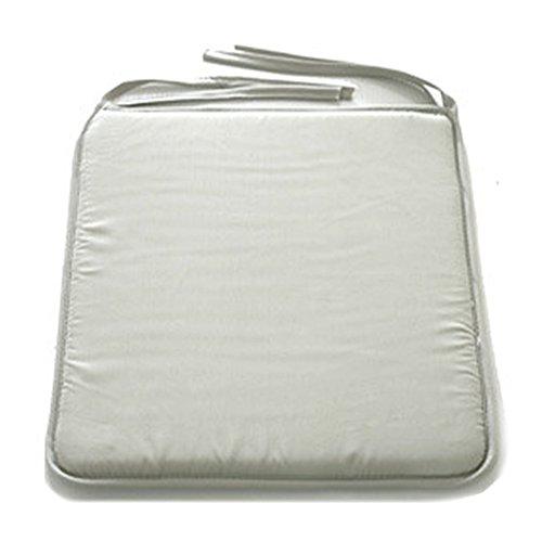 Cojines cuadrados de lujo para silla de comedor, almohadillas de asiento impermeables...