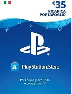 PlayStation Network PSN Card 35€ | Codice download per PSN - Account italiano