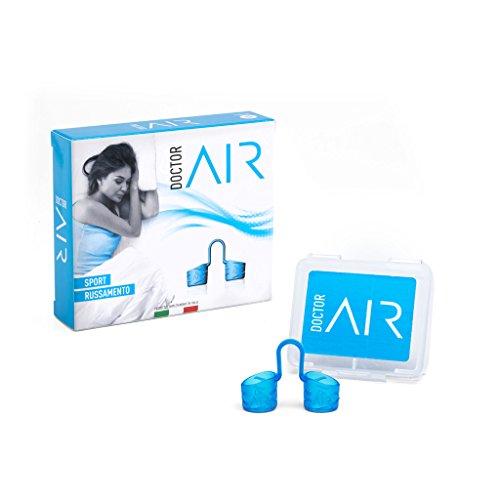 Schnarchstopper Doctor AIR Nasendilatator wiederverwendbar-gegen schnarchen-für eine befreite nasenatmung beim Sport-MADE IN ITALY (Medium)