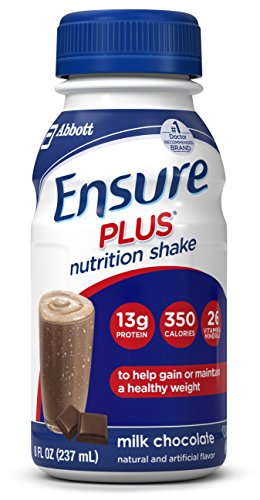 ensure-plus-nutrition-shake-milk-chocolate-8-ounce-bottle-6-count-pack-of-4
