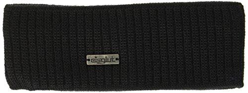 Eisglut Damen Nin Merino Stirnband, Schwarz, One Size - Merino Knit Hat