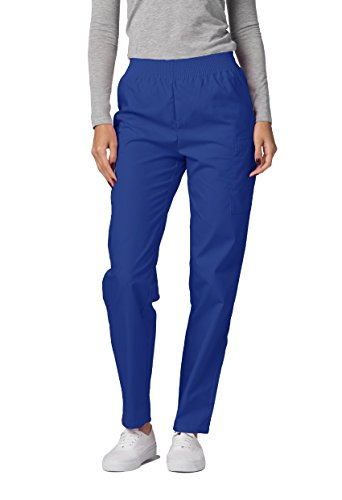 Adar Universal Natural-Rise Comfort 4 Pkt Cargo Utility Tapered Leg Pants - 503 - Royal Blue - XL Cargo-naturals