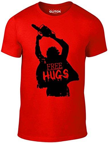 n Halloween Free Hugs T-Shirt (Rot, Klein) (Halloween Bonfire Ideen)