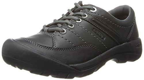 Keen chaussures de loisirs presidio sport chaussures à lacets en cuir pour femme chaussures Noir