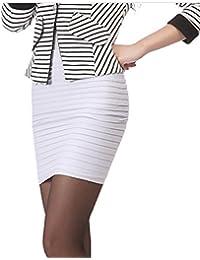 eaff9ccc07 KA Belleza de la mujer falda de tubo por encima de rodilla para mujer mini  falda