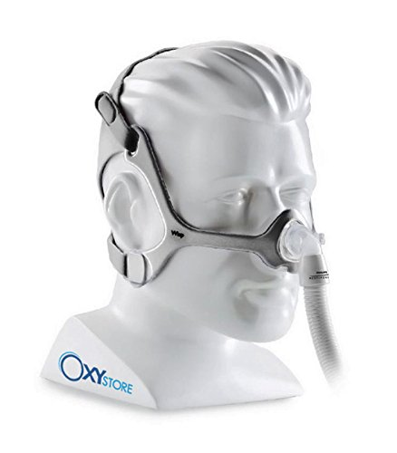 OxyStore - Maschera nasale Wisp - Philips Respironics - Sì (per tutte le terapie CPAP), Kit - 3 taglie incluse