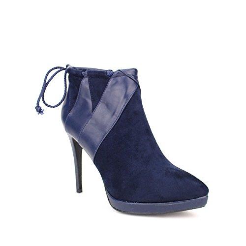 Cendriyon, Low Boot Blue REAKEN Fashion Chaussures Femme Bleu