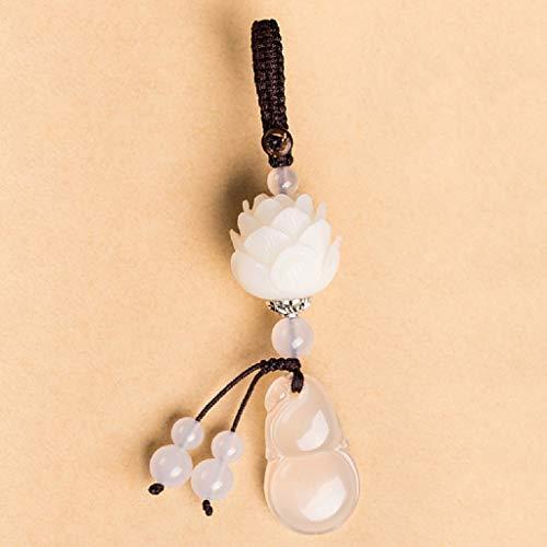 ar Kürbis Schlüssel Schnalle Anhänger Bodhi Lotus Schlüsselanhänger kreative Geschenk ()
