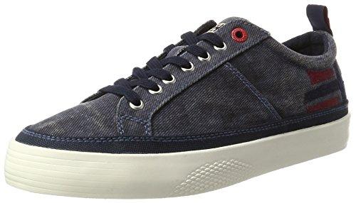 Napapijri Footwear Herren Gobi Low-Top, Blau (Blue Marine), 44 EU