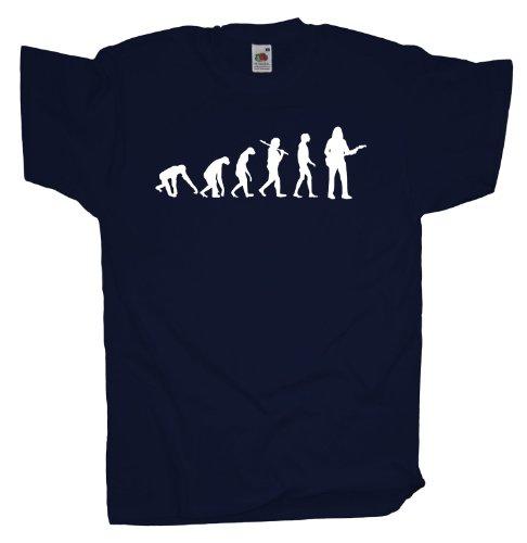 Ma2ca - Evolution - Gitarrist T-Shirt Navy
