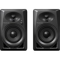 Pioneer DM-40 Negro altavoz - Altavoces (De 2 vías, 2.0 canales, Alámbrico, RCA / 3.5mm, 4 Ω, Negro)