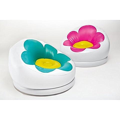 Aufblasbarer Sessel Intex Blume grün