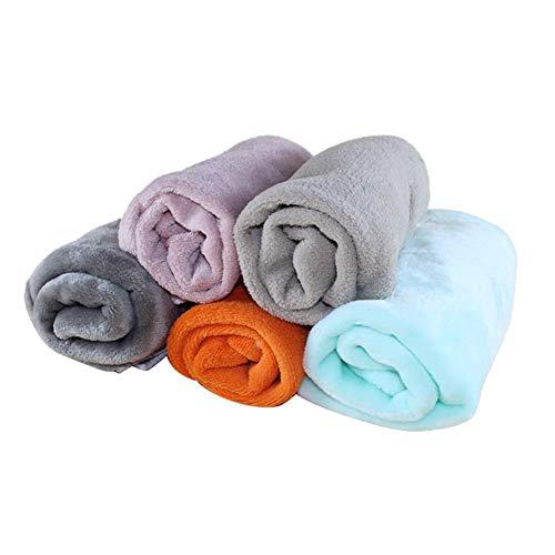 Rubyu Haustierdecke Weich Wärme Fleecedecke für Hunde und Katzen Waschbar Hundedecke Flauschige Fleece Decke Tierdecke Liegedecke für Kleine Mittlere Große Hunde, 1PCS