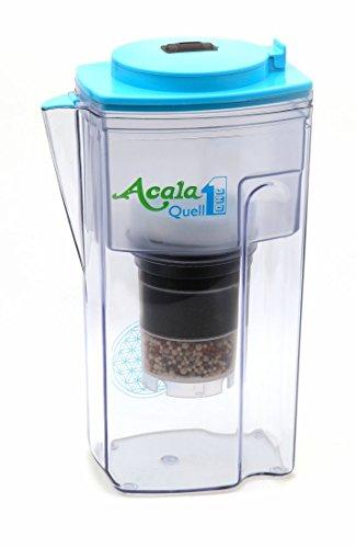 Acala Quell One hellblau – Aktivkohle Wasserfilter