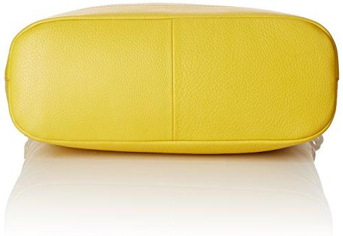 Le Tanneur Capricieuse, Sac porté épaule Jaune (Citronnelle)