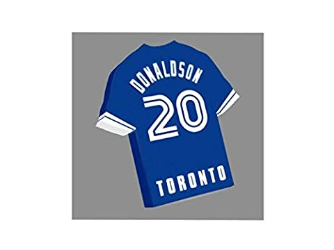 MAJOR LEAGUE BASEBALL - MLB JERSEY FRIDGE MAGNETS - You choose the name, number and team colours - FREE PERSONALISATION!!! (Toronto Blue Jays Baseball Fridge
