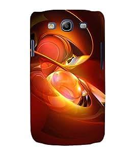 Print Masti Designer Back Case Cover for Samsung Galaxy S3 Neo I9300I :: Samsung I9300I Galaxy S3 Neo :: Samsung Galaxy S Iii Neo+ I9300I :: Samsung Galaxy S3 Neo Plus (Art Red Orange Circle Sphere Transprent)