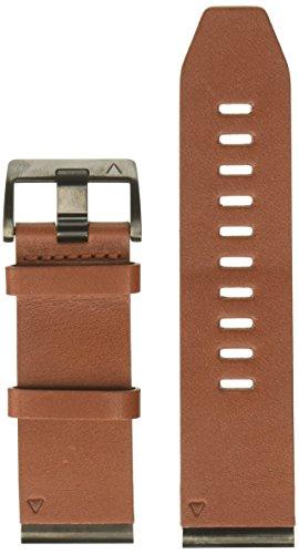 Garmin Leder-Armband-26mm Quickfit-Wechselarmband, Braun, 26 mm