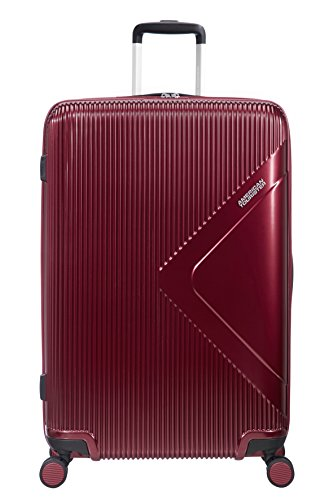 American Tourister Modern Dream - Spinner Expandible Maleta, 77.5 cm, 114 L, Rojo (Wine Red)