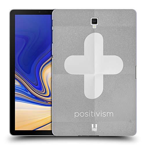 Head Case Designs Positivismus Philography Ruckseite Hülle für Samsung Galaxy Tab S4 10.5 (2018)