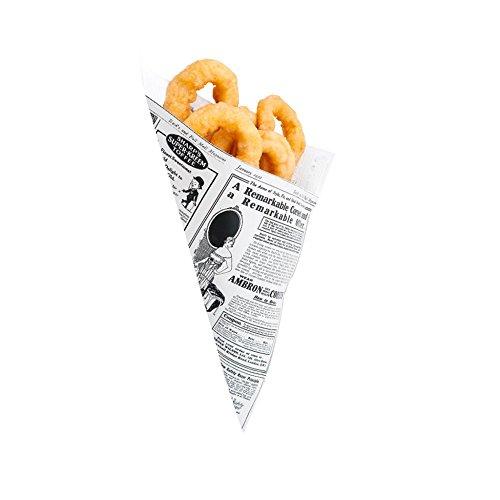 Garcia de Pou 2000Einheit Zapfen Mal Design 70gsm in Box, Papier, weiß, 30x 30x - Essen Papier Zapfen