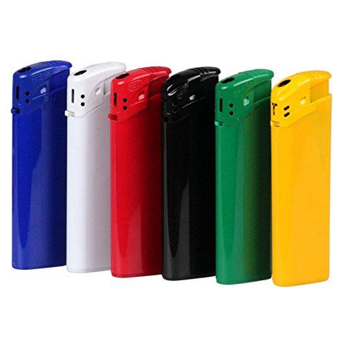 Elektronik-Feuerzeug EB15 mit Druck / Werbung / Logo / 100 Stück 1-farbig bedruckt