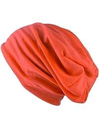 leichte und dünne Jersey long Beanie für Damen und Herren - Unisex by Oramics Verschiedene Farben!