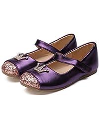 aa943714c Yzibei Fantasía Zapatos de niña Zapatos Casuales Princesa Zapatos  Individuales Hebilla de Lentejuelas Fiesta de Diamante Zapatos de Boda…