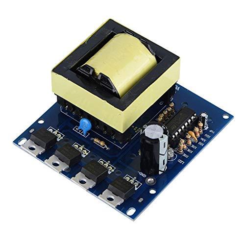 500 W Wechselrichter Boost Modul Board Transformator Wechselrichter DC 12V/24V To AC 18V 0-220V-380V Booster Board Module Inverter Boost Modul Board für Elektronikliebhaber DIY Produktion, Wartung Dc-inverter-board