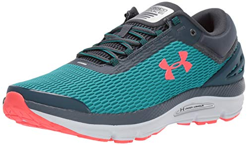Under Armour Herren Charged Intake 3 Laufschuhe, Grün (Teal Rush 300), 43 EU (Under Armour Grün Laufschuhe)