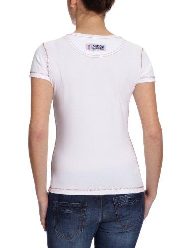Peak Sport F61008 Europe T-shirt pour femme Blanc - Blanc