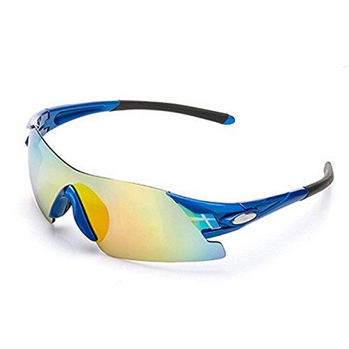 Ombrelloni sportivi eleganti occhiali da sole sportivi polarizzati frameless con lenti intercambiabili da 5 pezzi per occhiali da sole con protezione uv da donna occhiali da motociclista